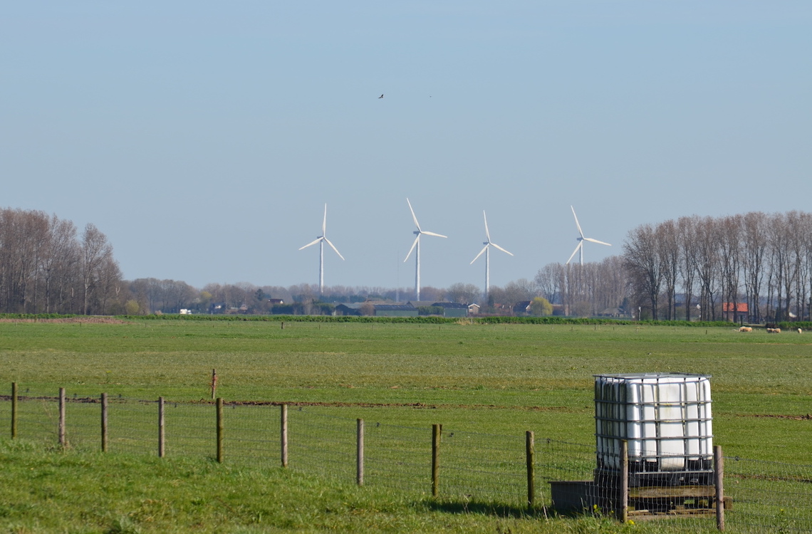 Windmolens langs Altena