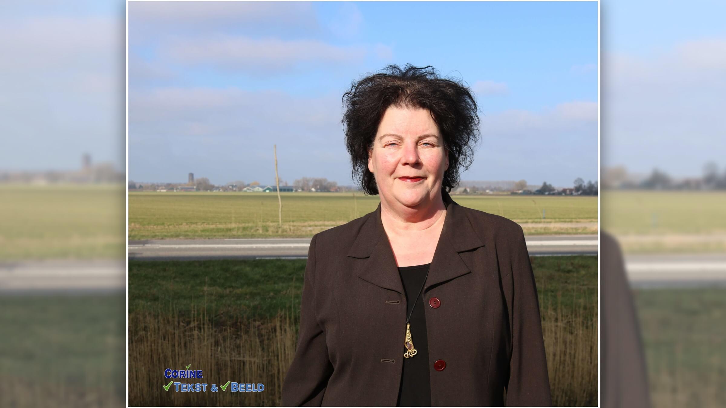Toontje Sprengerpluim 2021: Portret Anne-Wil Maris (Foto: Corine Koek-Maasdam/Corine Tekst&Beeld)