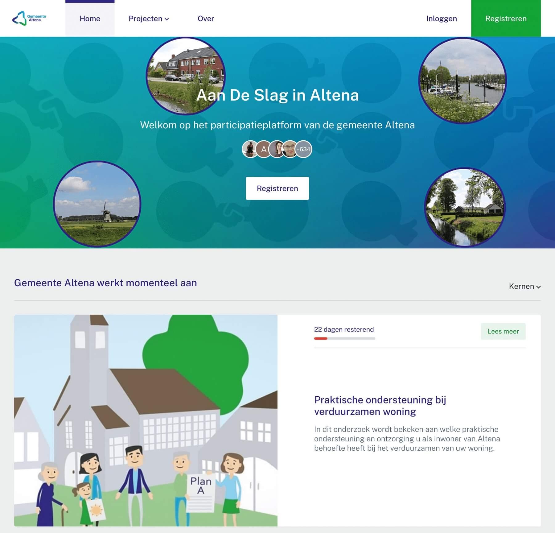 Aan de slag (participatieplatform gem Altena)